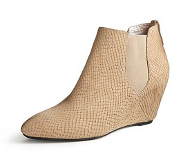 Georgia Ankle Boot Wedge, $65.99 (marked down from $165), dkny.com