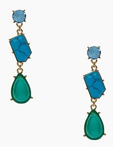 Crystal Fiesta Linear Earrings, $39 (marked down from $78), katespade.com