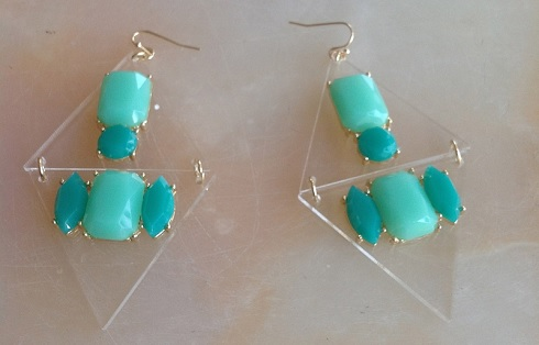 Lana Earrings in Teal, $18, shopbich.com