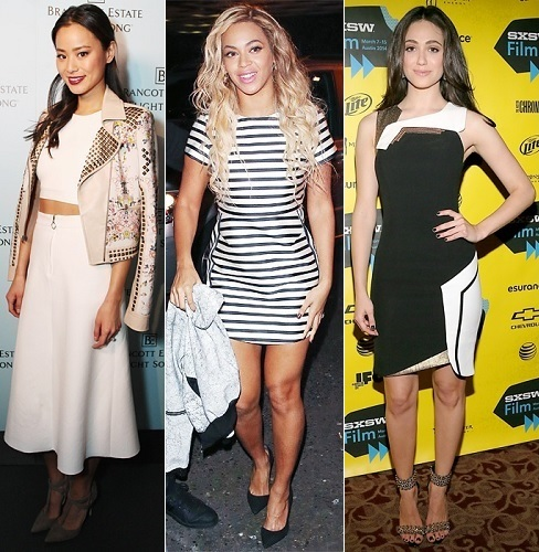 The Stylish Vote: Jamie Chung, Beyonce, Emmy Rossum