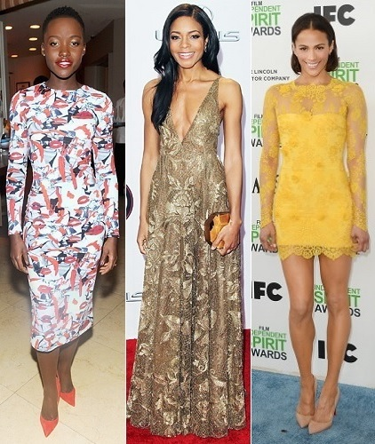 The Stylish Vote: Lupita Nyong'o, Naomie Harris, Paula Patton