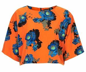 Crop Tops: Orchid Shadow Crop Tee, $72, topshop.com