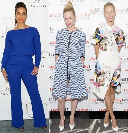 The Stylish Vote: Alicia Keys, January Jones, Karolina Kurkova