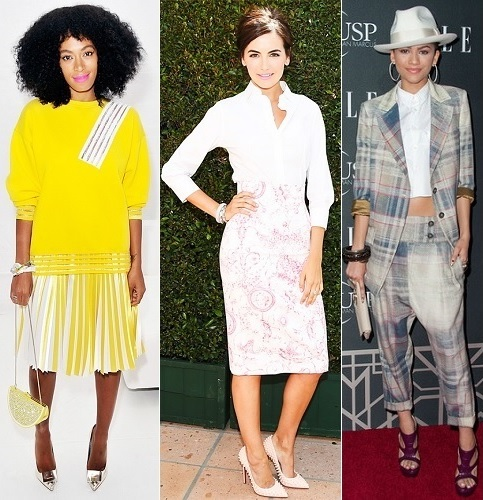 The Stylish Vote: Solange Knowles, Camilla Belle, Zendaya Coleman
