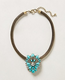 Mayura Necklace, $29.95 (marked down from $58), anthropologie.com