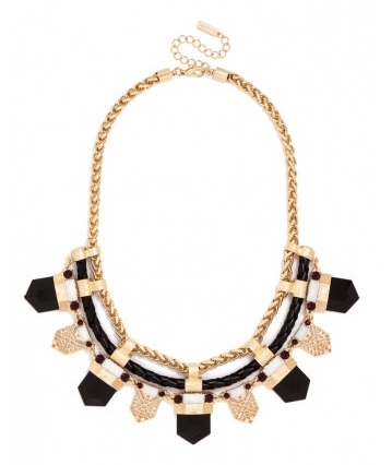 Braided Tribal Collar, $36, baublebar.com