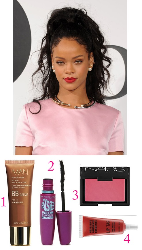 Celebrity Beauty Redux: Rihanna
