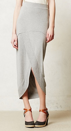 Draped Maxi Skirt, $49.95, anthropologie.com