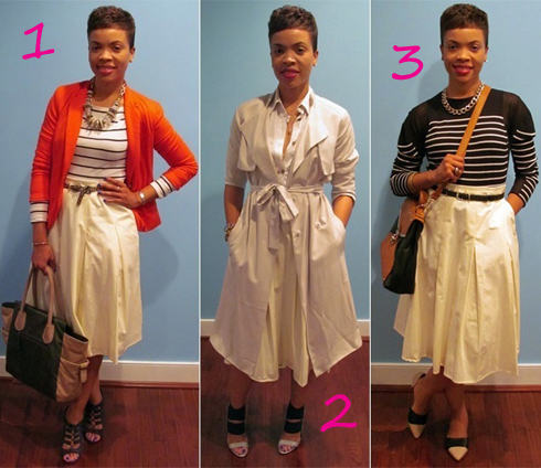 1 Skirt, 3 Ways
