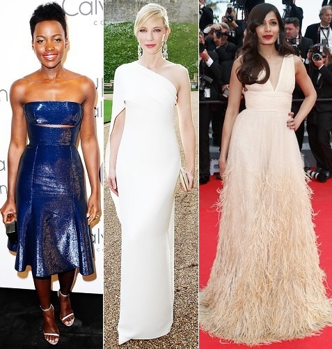 The Stylish Vote: Lupita Nyong'o, Cate Blanchett, Frieda Pinto