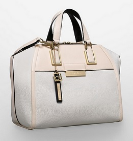 Valerie Textured Dome Satchel, $139.50 (marked down from $169.50), calvinklein.com