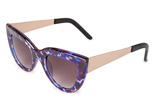 Spotted Cateye Sunglasses, $7.80, forever21.com