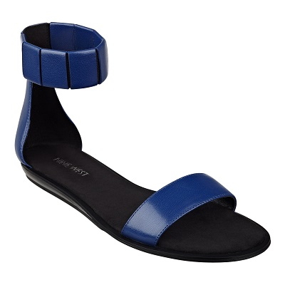 Vualah Ankle Strap Sandals, $69, ninewest.com