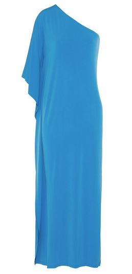 MICHAEL Michael Kors One-Shoulder Stretch Jersey Maxi Dress, $65, net-a-porter.com