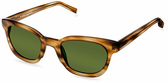 Warby Parker 'Dean' Sunglasses (in English Oak), $95, warbyparker.com