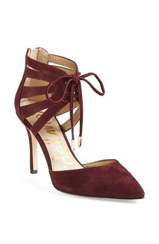 Sam Edelman 'Zachary' Cutout Ankle Cuff Suede Pump, $89.90 (through Aug. 4), nordstrom.com