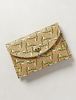Caracara Clutch, $39.95 (marked down from $68), anthropologie.com
