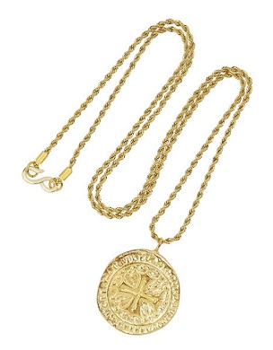 Kenneth Jay Lane Gold-Plated Pendant Necklace, $40, net-a-porter.com