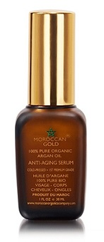 Morrocan Gold 100% Pure Argan Oil Anti-Aging Serum, $26, doobop.com