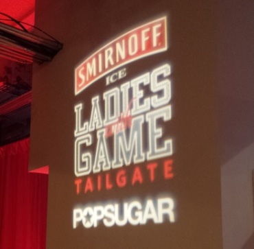 Smirnoff Ice and POPSUGAR present Ladies With Game Tailgate party
