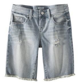 Mossimo Bermuda Denim Shorts, $19.99, target.com