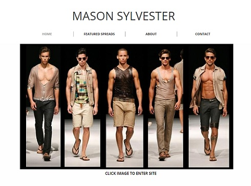 Photo: Screengrab from masonsylvester.com