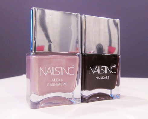 Nails Inc. nail polishes including the Alexa Chung fabric and NailKale collections are available at Sephora.com. (Photo: Stylin' & Profilin')