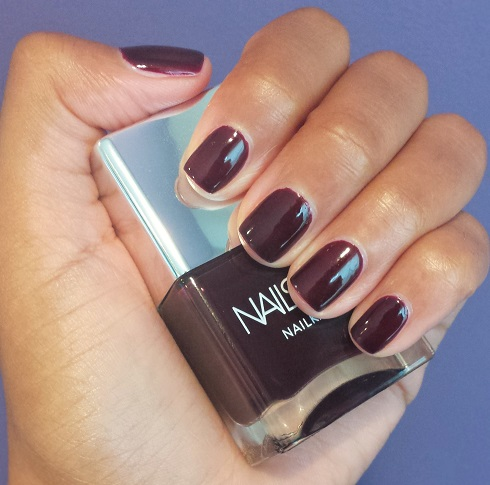 Nails Inc. 'Victoria' NailKale polish, $14, sephora.com (Photo: Stylin' & Profilin')