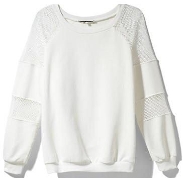 Pure Sugar Sweatshirt With Mesh Panels, $44.97, piperlime.com