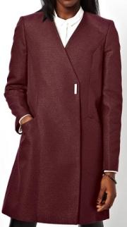 ASOS Coat With Metallic Texture, $68.22, asos.com