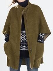 Double-Sided Cape, $169, zara.com
