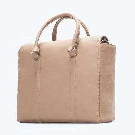 Shopper Bag With Knots, $79.90, zara.com
