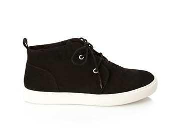 Faux Suede High-Top Sneakers, $27.80, forever21.com