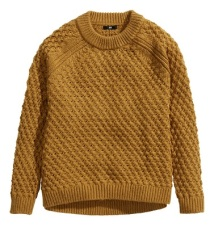 Textured Knit Sweater, $19.95, hm.com