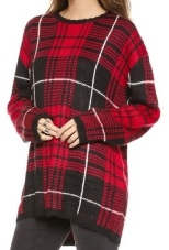 UNIF Jumbo Plaid Sweater, $88, shopbop.com