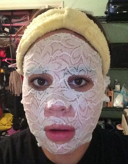 Product Review: Dermovia Lace Face Mask