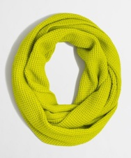 Factory Waffle Infinity Scarf, $22.00, jcrewfactory.com