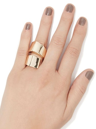 Spiral Out Ring, $7.20, nastygal.com