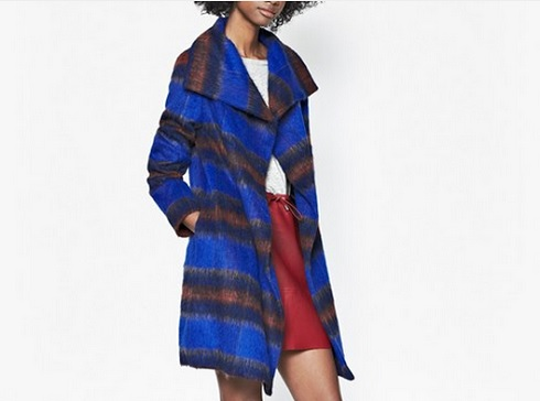 Major swoon alert: French Connection's Kazan Checked Coat