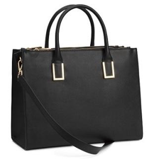 Faux Leather Handbag, $39.95, hm.com