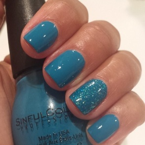 """Sinful Colors Professional Nail Polish in """"Savage"""" and """"Nail Junkie"""""""