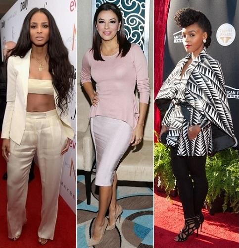 The Stylish Vote: Ciara, Eva Longoria, Janelle Monae