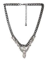 Rhinestone Statement Necklace, $10.90, forever21.com
