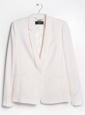 Crepe Blazer, $49.99, mangooutlet.com