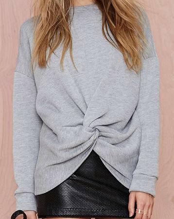 Knot Hot Sweatshirt, $58, nastygal.com