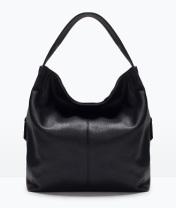 Basic Handbag, $49.90, zara.com