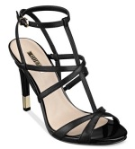 Guess Carnney3 Strappy T-Strap Sandal, $99, macys.com