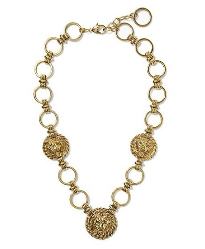 Sweet & Spark for Piperlime Vintage Lionshead Collar, $49.97, piperlime.com
