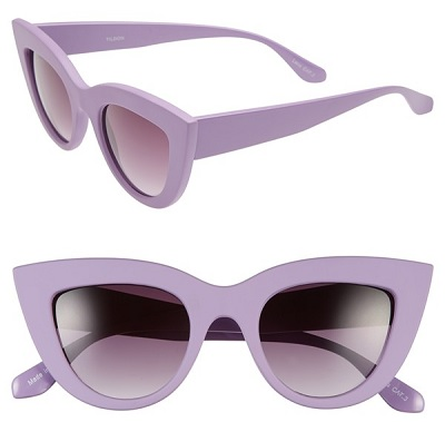 Tildon 42mm Cat Eye Sunglasses, $34, nordstrom.com