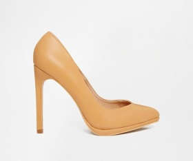 Truffle Collection Alma Tan Pumps, $43, asos.com